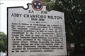 Image for Abby Crawford Milton - 2A 108 - Chattanooga TN