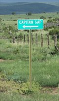 Image for Capitan Gap -- US 380 W of Capitan NM