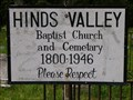 Image for Hinds Valley Baptist Church and Cemetery