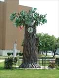 Image for Tree Clock, Punxsutawney, Pennsylvania