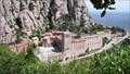 Image for Scenic Overlook at Santa Maria de Montserrat Abbey, Monistrol de Montserrat, Catalonia, Spain