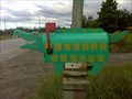 Image for 4 Eyed Crocagator Mailbox - near Almira, ON