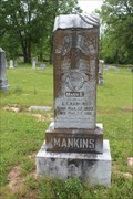 Image for Mary E. Mankins - Cuthand Cemetery - Cuthand, TX
