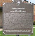 Image for John Huston Finley 1863-1940, Grand Ridge, IL