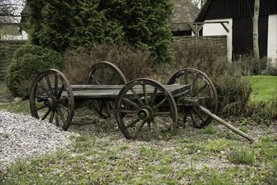 Et levn fra dengang der blev drevet landbrug her på gården