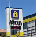 Image for Golden State Storage Time and Temperature Sign - Las Vegas, NV