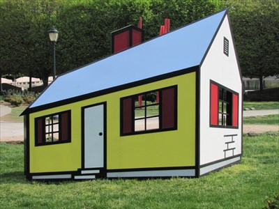 House by Roy Lichtenstein, Washington, DC