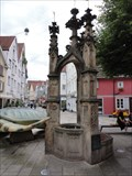 Image for Gothic fountain - Lindenbrunnen - Reutlingen, Germany, BW