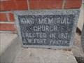 Image for 1901 - King Memorial United Methodist Church - Whitney, TX