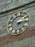 Image for Clock, St Michael's, Salwarpe, Worcestershire, England