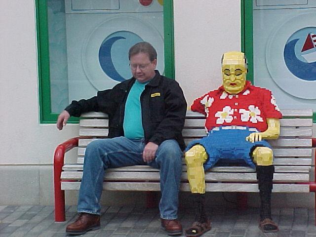 Lego Man - Legoland - Carlsbad, CA Image