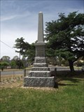 Image for Harcourt War Memorial - Victoria