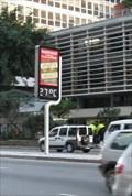 Image for Rua Augusta Temperature Sign - Sao Paulo, Brazil