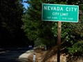 Image for Nevada City (Nevada Co) CA    pop. 2,855