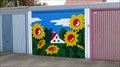 Image for Sunflowers garage door  -  Oer-Erkenschwick, Germany