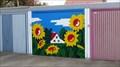 Image for Sunflowers garage door  -  Oer-Erkenschwick, Germany