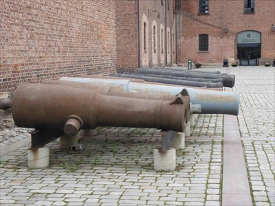 Multiple Cannons - Oslo, Norway
