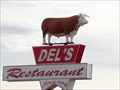 Image for Del's Restaurant -  Route 66 - Tucumcari, New Mexico.
