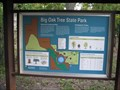 """Image for """"You Are Here"""" Map Big Oak Tree State Park  - Missouri"""