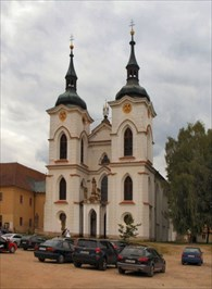 Church of the Nativity of the Blessed Virgin Mary - Želiv