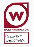 Image for PetenDot Waymark Sticker & Pin