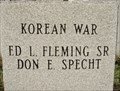 Image for First German Reformed Church Cemetery War Memorial (KOREA) - Ragersville, OH