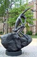 Image for Thinker On Rock - Washington University - St. Louis