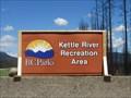 Image for Kettle River Provincial Recreation Area - Westbridge, British Columbia