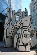 Image for Monument with Standing Beast by Jean Dubuffet - Chicago, Illinois