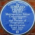 Image for Sir Edward Henry - Sheffield Terrace, London, UK