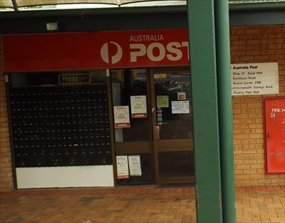 A cropped photo of the Post Office