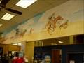 Image for Land Run Mural - US Post Office - Enid, OK