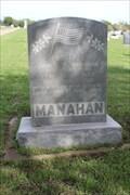 Image for First Lieut. James A. Manahan - Gainesville, TX