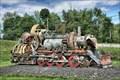 Image for Steam Locomotive Built of Junk - Rutland VT