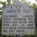 Image for Augustin Daly, Marker B-13