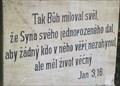 Image for Citat z bible - Jan 3.16. - Lomnice u Tisnova, Czech Republic