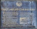 Image for Salt Lake and Utah Railroad