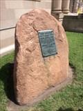 Image for The Boulder of the Texas Cattle Trail - Abilene, KS