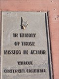 Image for Willcox MIA Memorial - Willcox, AZ