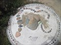 Image for Mosaic Snake Bench - Carlsbad, CA