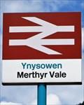 Image for Merthyr Vale Railway Station - Ynysowen, Merthyr Tydfil, Wales.