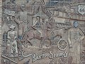 Image for Baxter springs - Relief Sculpture - Kansas, USA.