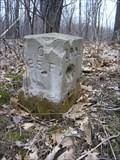 Image for 1881 Survey Stone on Ohio-Pennsylvania border, Offset 25 feet (Mile 01)