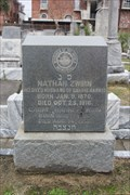 Image for Nathan and Carrie H. Zwirn -- Chevra-Thilim Cemetery, New Orleans LA