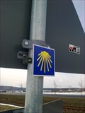 Image for Markierung des sächs. Jakobsweg - Laußnitz, Lk. Bautzen, Sachsen, D