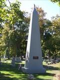 Image for Brookside Cemetery Veterans Memorial Obelisk - Tecumseh, Michigan