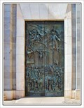 Image for Bronze doors to the Cathedral de la Almudena - Madrid, Spain