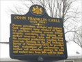 Image for John Franklin Carll (1826-1904) - Pleasantville, PA