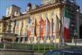 Image for 11 Flaggen um Brunnen / 11 Flags around fountain - Eisenstadt, Austria