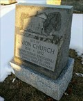 Image for Site of Union Church 1824-1892 - Rockway, Ontario